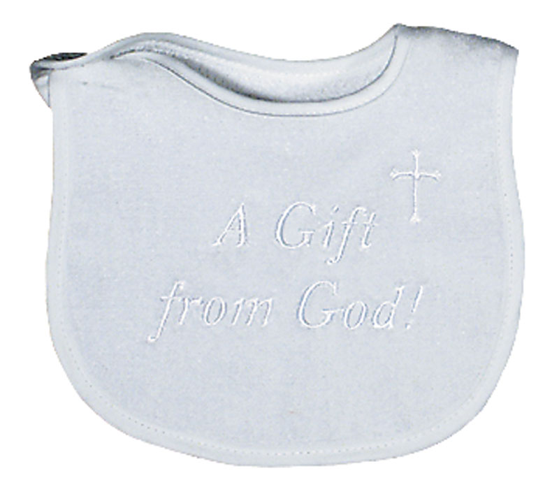 """A Gift from God"" Unisex Bib"
