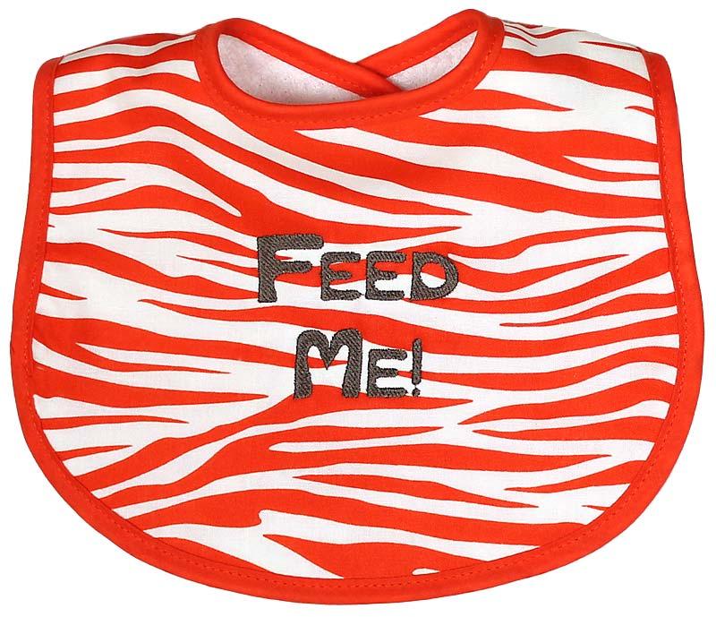 """Feed Me!"" Bib"