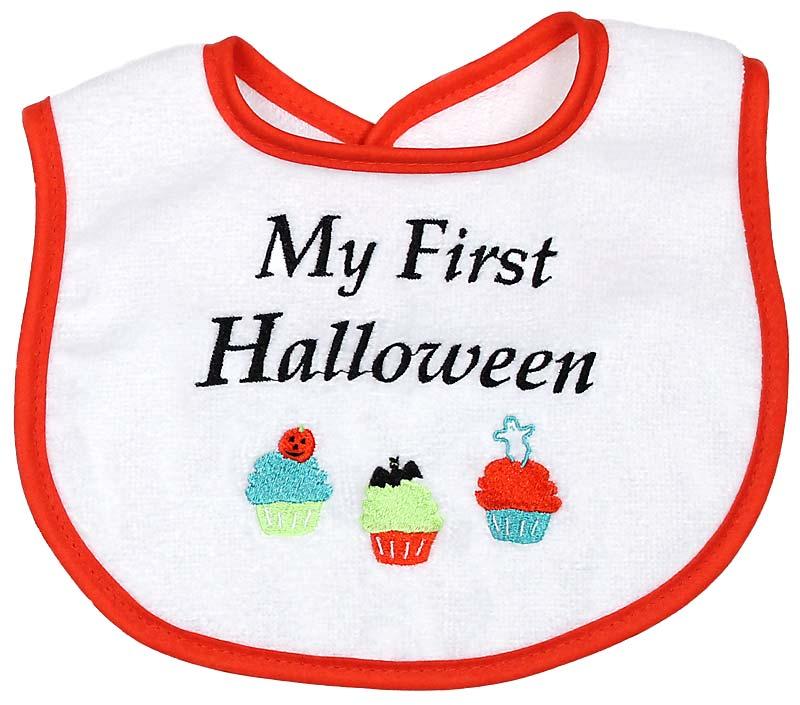 """My First Halloween"" Unisex Bib"