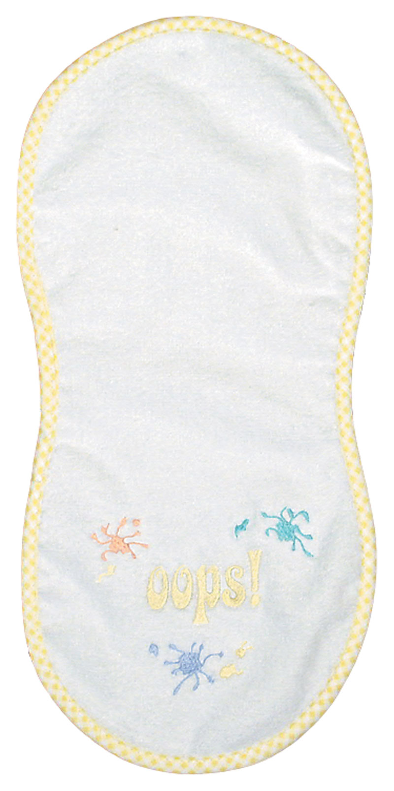 """Oops"" Unisex Burp Cloth"