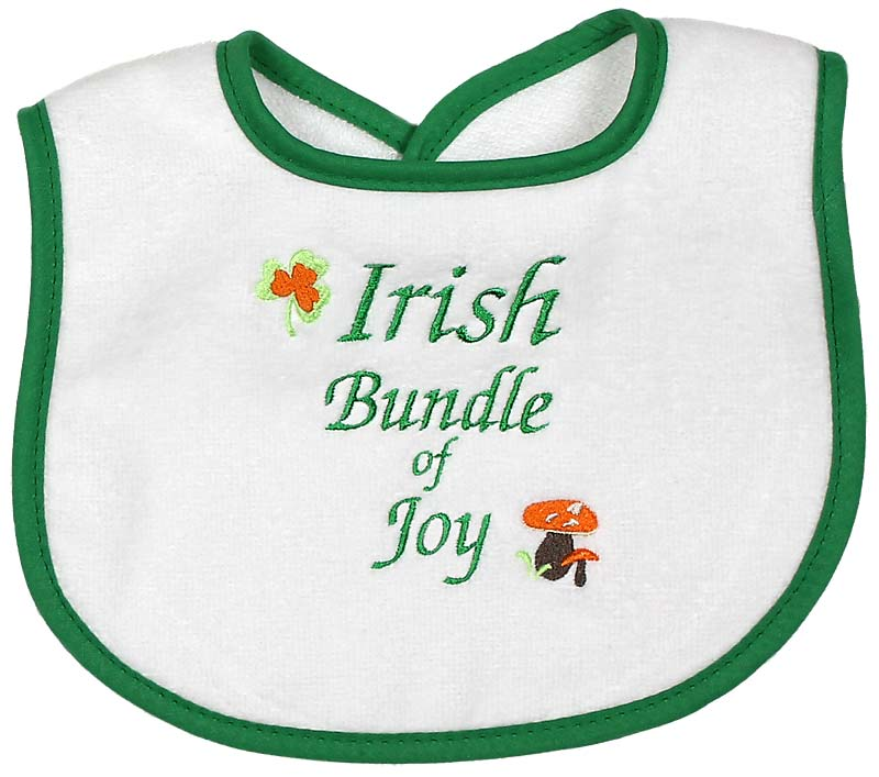 """Irish Bundle of Joy"" Unisex Bib"