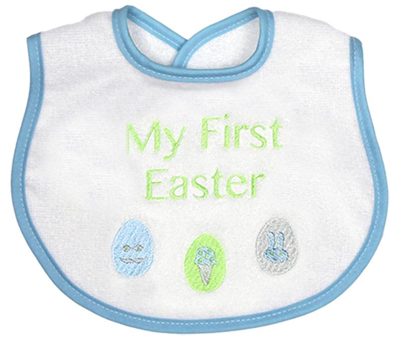 """My First Easter"" Boy Bib"