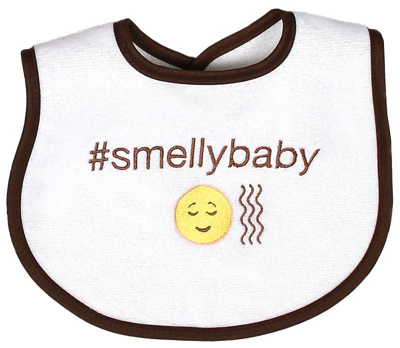 """""""#Smellybaby"""" Unisex Bib"""