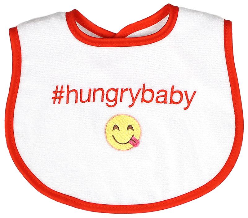 """#Hungrybaby"" Unisex Bib"