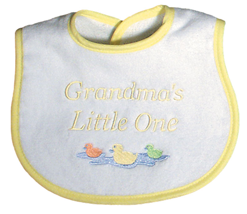 """Grandma's Little One"" Unisex Bib"
