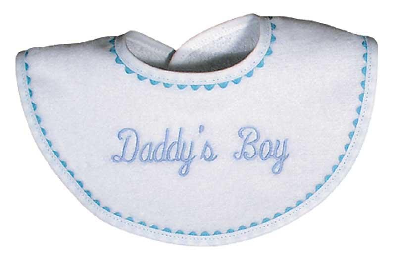 """""""Daddy's Boy"""" Bib"""