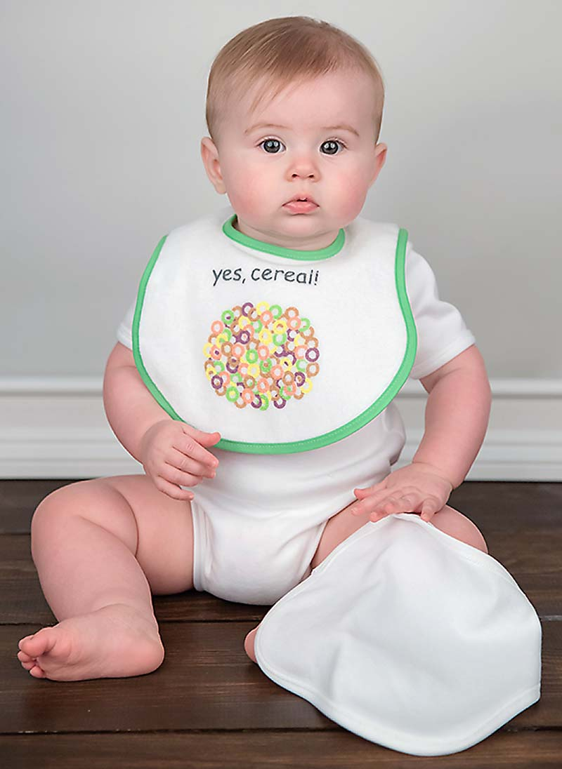 Bib-To-Go! Cereal Unisex Gift Set