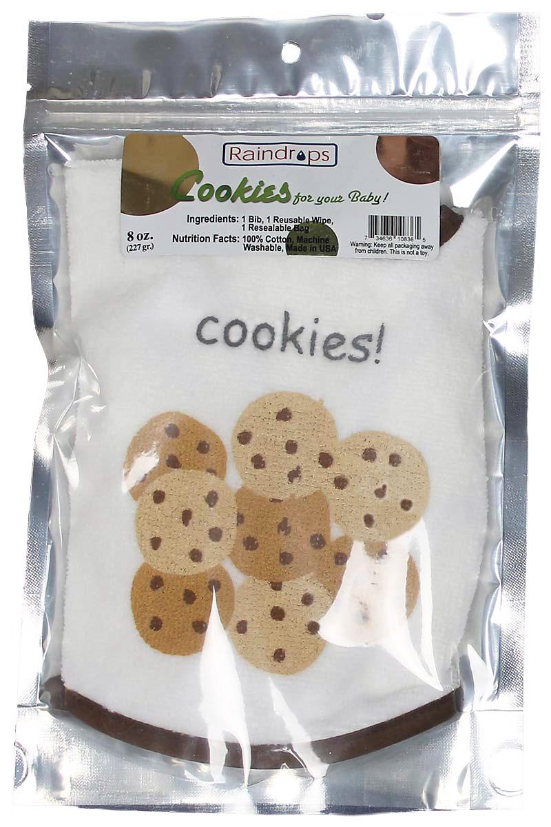 Bib-To-Go! Cookies Unisex Gift Set