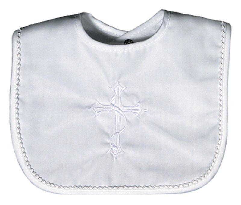 Cotton Christening Unisex Bib