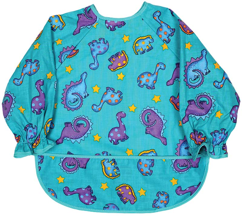 Infant Long Sleeve Boy Print Bib
