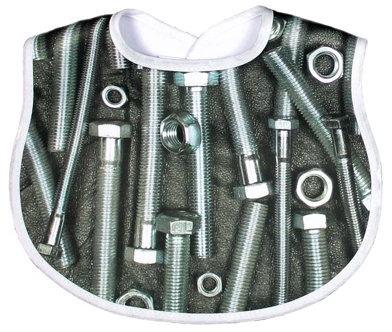 Nuts & Bolts Bib