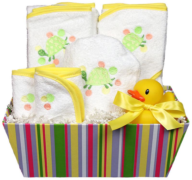 Bubbles n� Stripes Bath Towel Unisex Gift Set