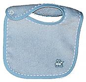 Appliqued Blue Boy Bib