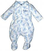 #21300 Pink and Blue Cats Comfie Play Wear